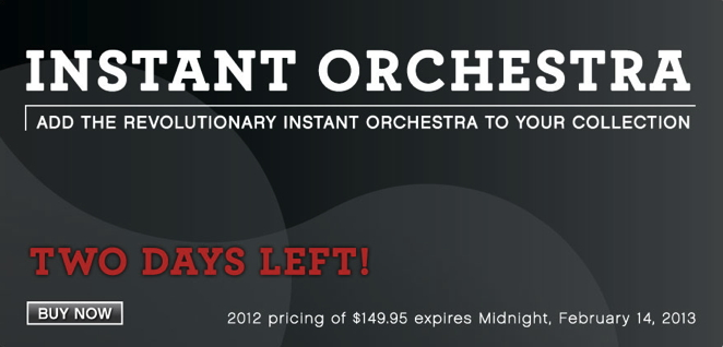 Garritan Instant Orchestra is a revolutionary sound libra...